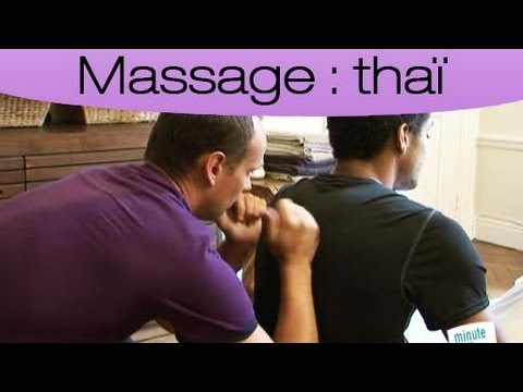 Pratiquer un massage thaï traditionnel : La technique