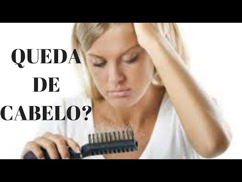 Видео Queda de cabelo relacionada a deficiência de nutrientes e minerais