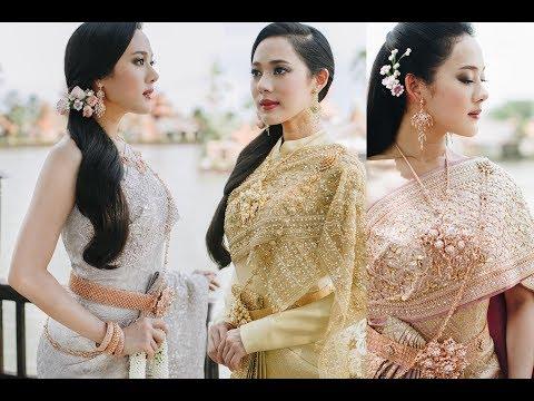FINALE WEDDING STUDIO ชุดไทยประยุกต์ แบรนด์ SPOSA สอบถาม 094 359 2823 และ 081 847 6072
