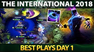 Best Plays Group Stage Day 1 - The International 2018 - Dota 2 #TI8