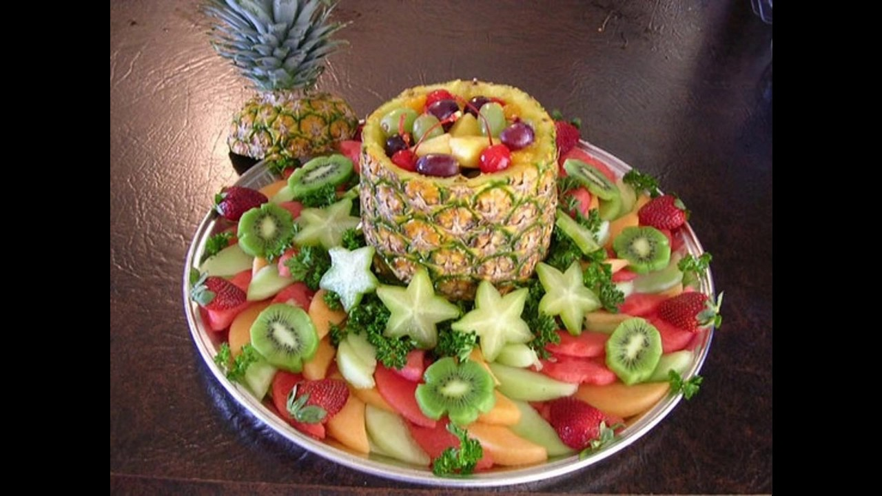 Creative Fruit tray decoration ideas & Creative Fruit tray decoration ideas - YouTube