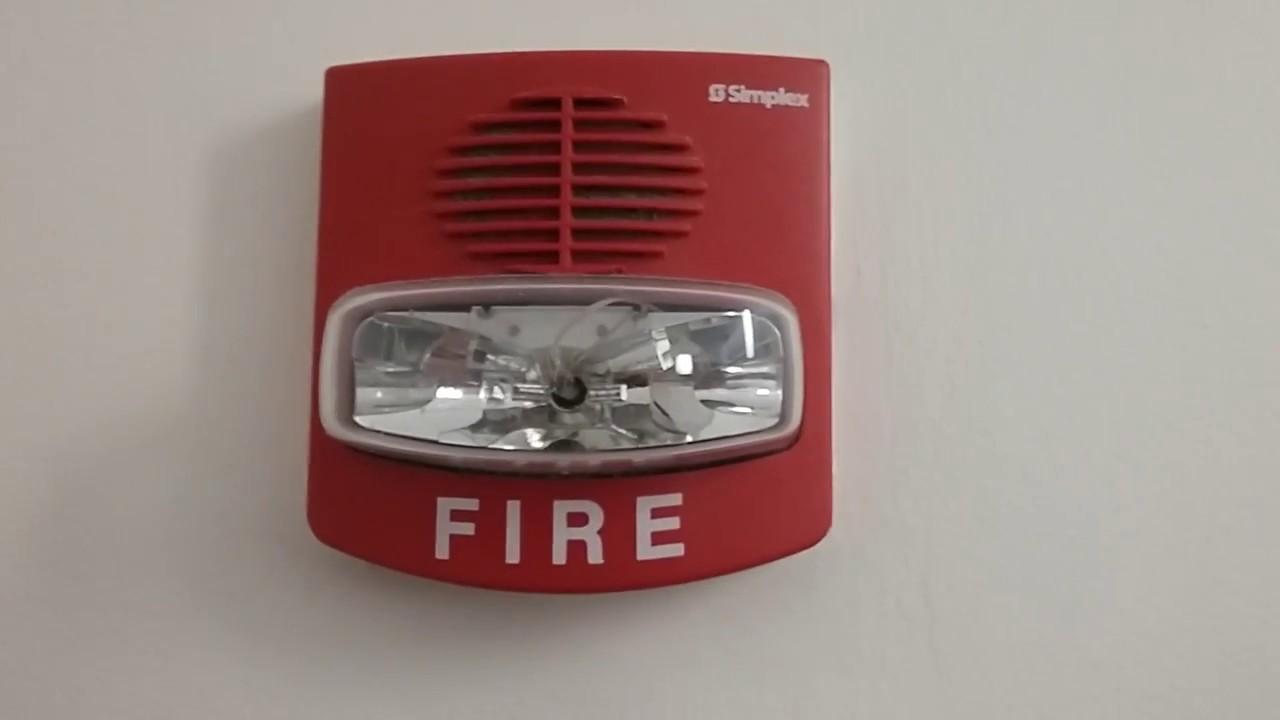 Simplex 4100U Fire Alarm