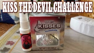 Hersheys Giant Kiss The Devil Challenge DO NOT ATTEMPT | FreakEating Vs The World 666