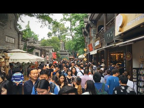 Quick Walk through Jinli Ancient Street in Chengdu