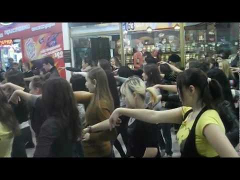 Флешмоб Gangnam Style в Комсомольске-на-Амуре
