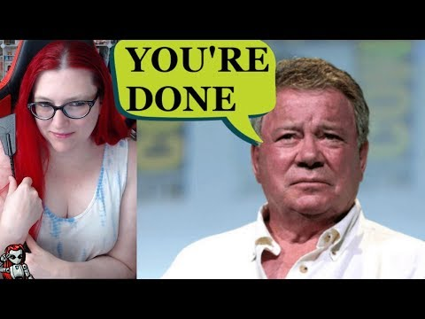 William Shatner Shuts Down Star Trek Podcast Host Who Wished He Was Dead
