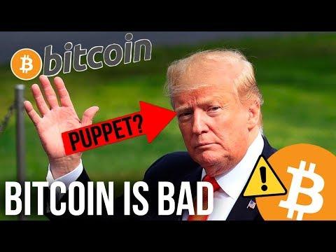 Dear Donald Trump, Bitcoin...