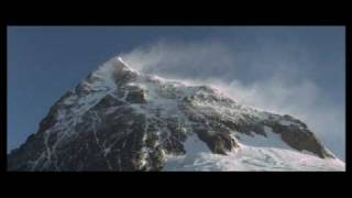 Skiing down Mount Everest