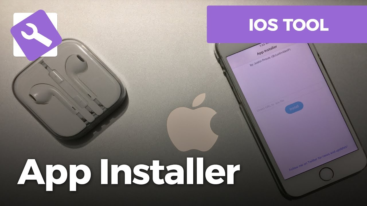 App installer let's you install IPA's directly from your non-jailbroken  device
