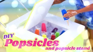 DIY - How to Make: EASY Doll Popsicles and Popsicle Stand