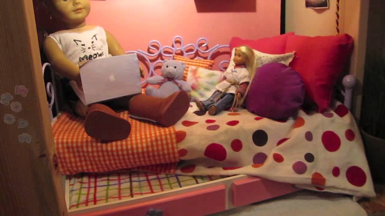 the american girl doll house youtube