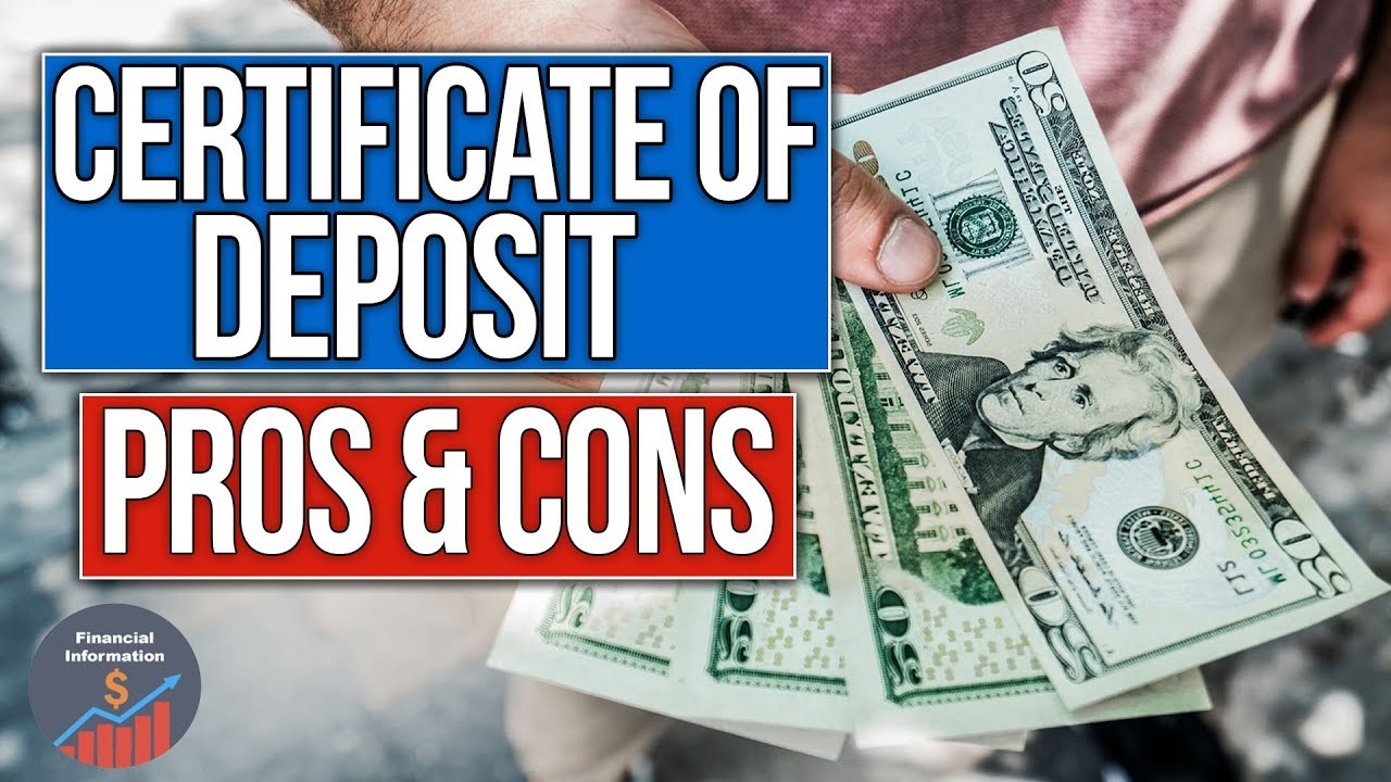 Certificate of deposit advantages and disadvantages pros and certificate of deposit advantages and disadvantages pros and cons xflitez Images