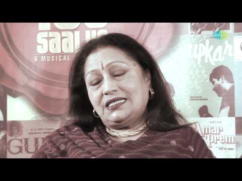 ''I am A Big Fan Of Lata Ji'' Says Actress Bindu - Lata Mangeshkar | A Musical Journey