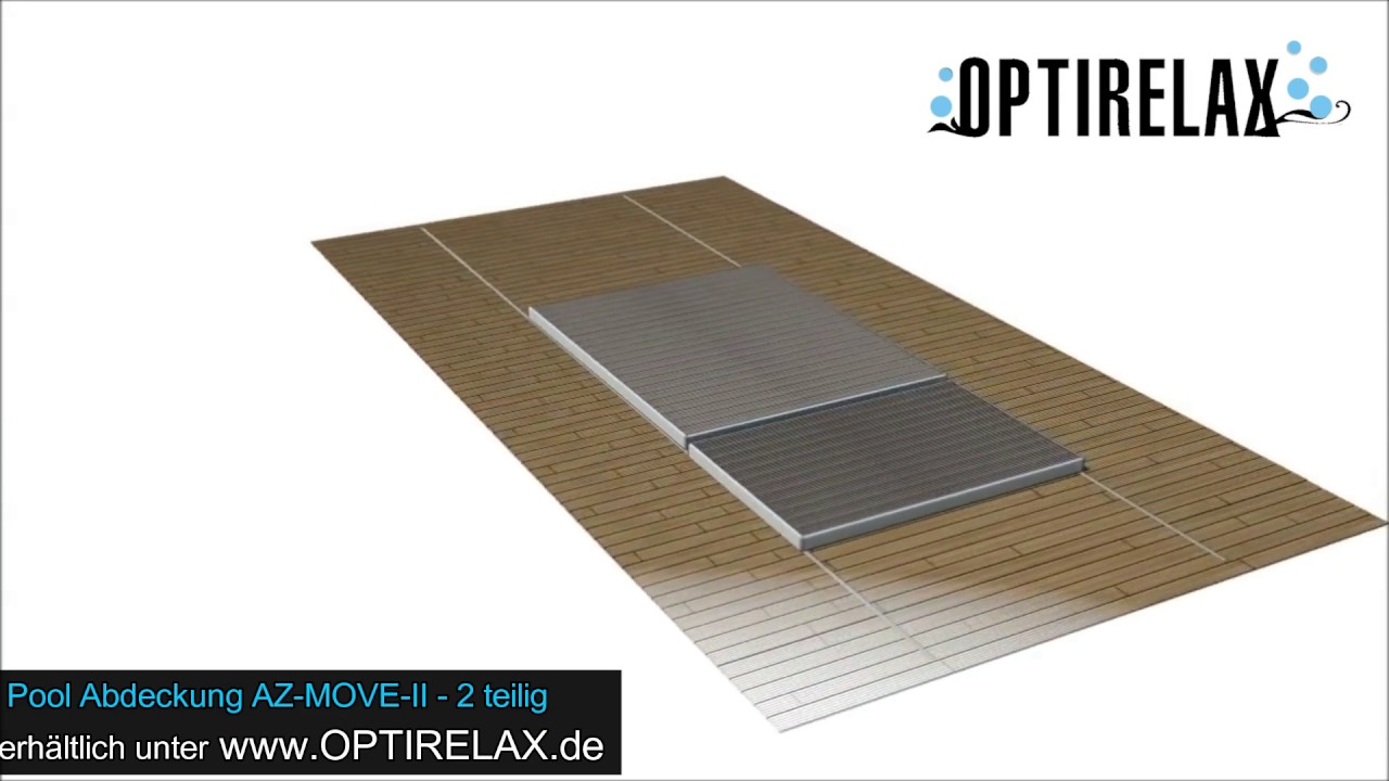 Poolabdeckung Platten Swimspa Poolabdeckung Optirelax Az Move Ii