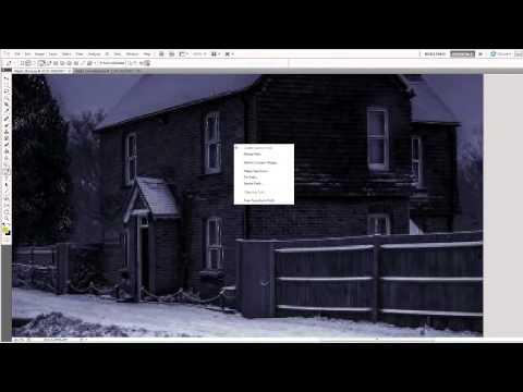 Add Warm Glow From Windows In Photoshop.mp4
