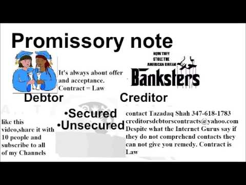 Can I pay for a home with a Promissory note Comprehending your