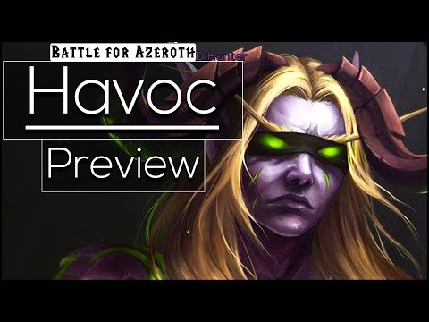 Battle For Azeroth Beta - Havoc Demon Hunter - Preview [Class Changes]