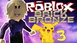 MY FIRST GYM BATTLE! - Roblox Brick Bronze Ep 3
