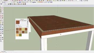 Sketchup Wooden Table Design, By Rahgsa