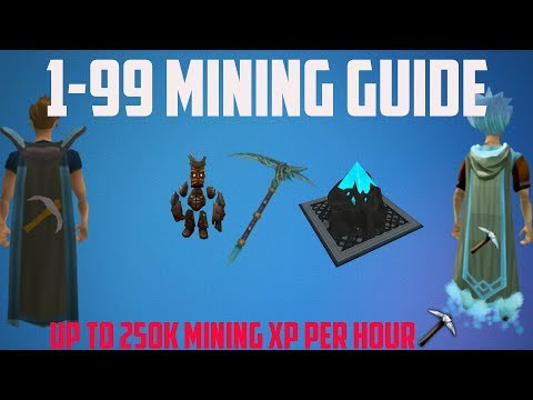 Runescape 3 - 1-99 Mining Guide Pre-rework (Updated Guide In Description)