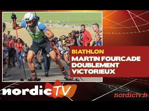 Déjà deux victoires pour Martin Fourcade
