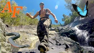 Exploring a wild remote lost tropical river.     I show you how  EP.421
