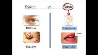 Бесплатный урок 5. Курсы русского как иностранного. Буква и звук.