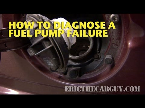 How To Diagnose A Fuel Pump Failure - EricTheCarGuy - YouTube