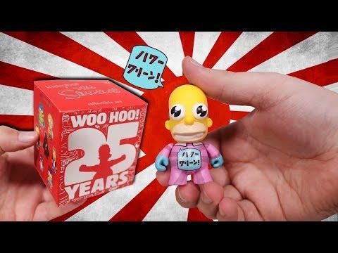 Opening 20 Simpsons Mystery Mini Figures!