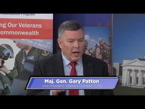 V3  with Major General Gary Patton of CACI
