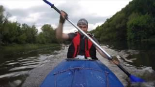 По реке ''Красивая меча''. Сплав, поход, рыбалка. Июнь 2016 г.