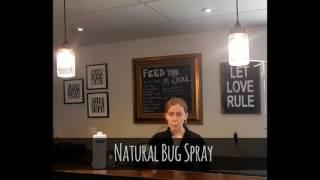 diy natural bug repellent