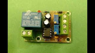 Схема защиты аккумулятора от перезаряда перегруза и кз