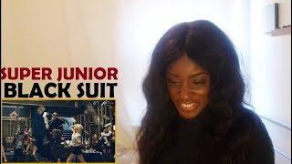 SUPER JUNIOR (슈퍼주니어) - BLACK SUIT MV REACTION