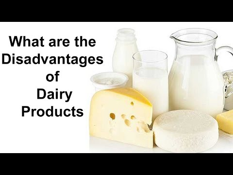 What are the Disadvantages of Dairy Products