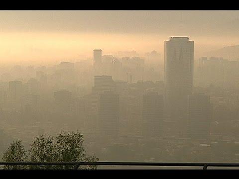 Presentan nuevo plan de descontaminación para Santiago en 2017