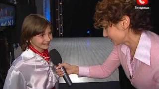 Valentin Galushko sings on TV-show