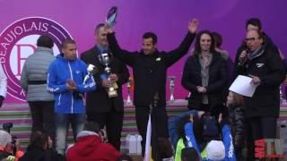 Marathon du Beaujolais 2016 - La victoire de Cédric Fleureton