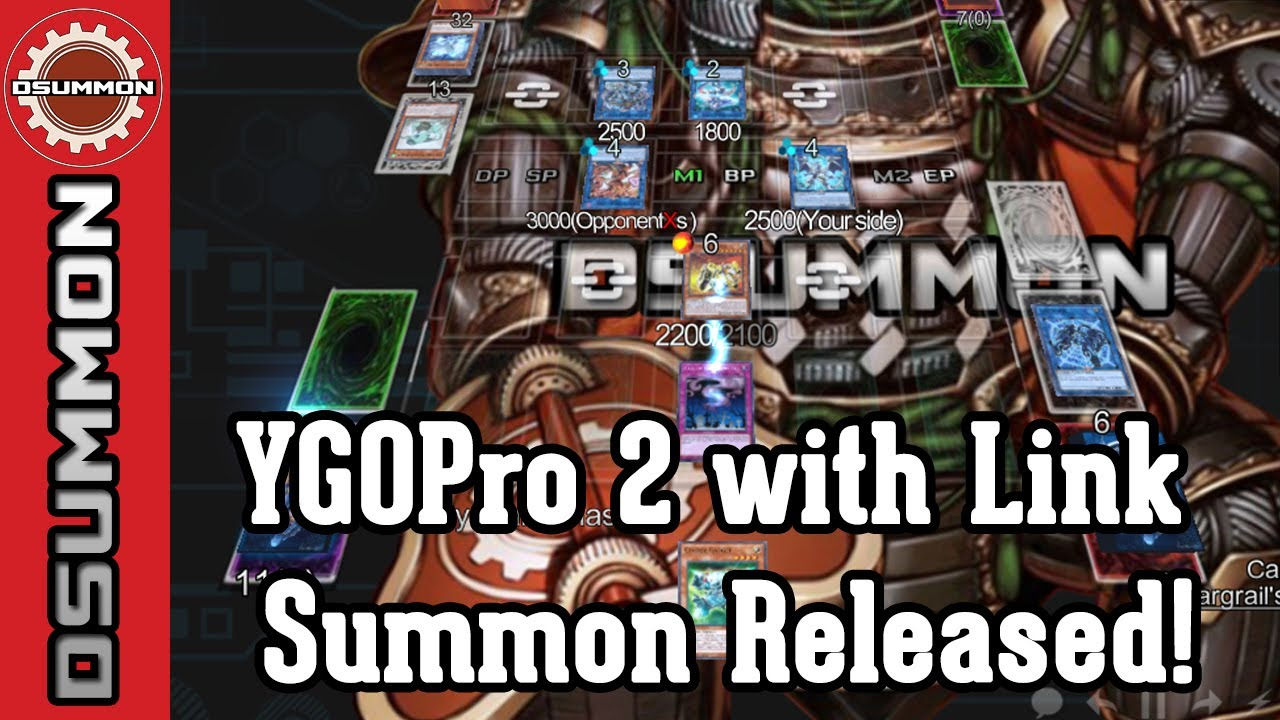 [Yu-Gi-Oh!] YGOPro 2 with Link Summoning finally released - How to download  and play YGOPro 2!