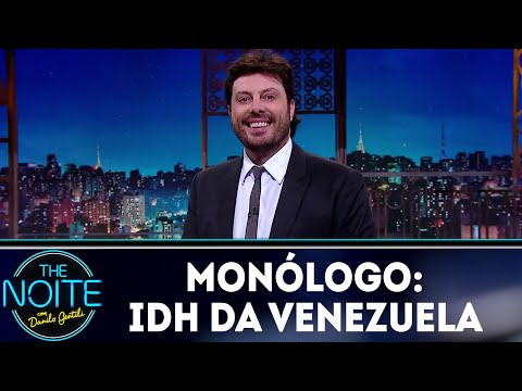 Monólogo: IDH  da Venezuela   The Noite (28/09/18)