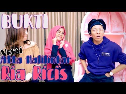 BUKTI VIRGOUN - Versi Ria Ricis & Atta Halilintar (Cover by Tereza) [Video Lyrics]