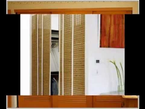 Simple bedroom closet door ideas - YouTube