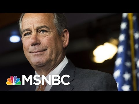 John Beohner Laughed Off Republicans' 'Happy Talk' Of Repeal, Replace Obamacare | MSNBC