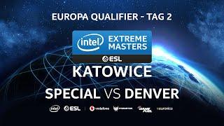 SpeCial (T) vs Denver(Z) - IEM Katowice 2020 Europa Qualifier Tag 2