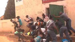 Police arrest more than 90 in Orange Farm shop looting