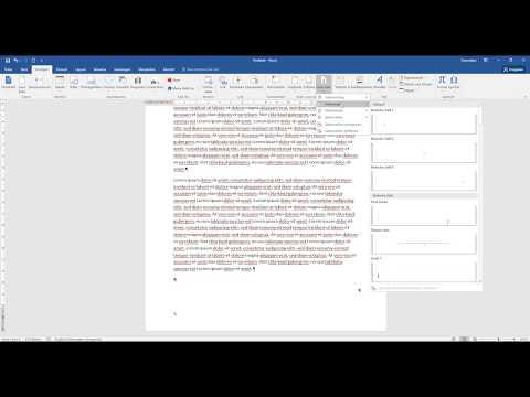 Hausarbeit Schreiben - Seitenzahl Auf Seite 3 Beginnen - Word 2016