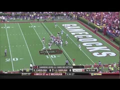 South Carolina vs ECU Highlights 2012
