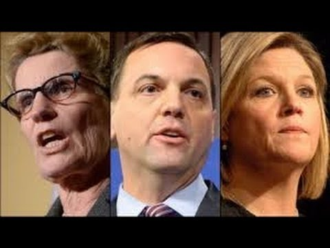 2014 Ontario Leaders Debate (Wynne, Hudak, Horwath)