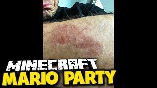 Ich bin mit einer FRAU zusammengeprallt (auf dem Fahrrad)  ✪ Minecraft Mario Party