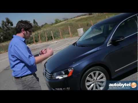 2012 Volkswagen Passat 3.6 SEL Test Drive & Car Video Review